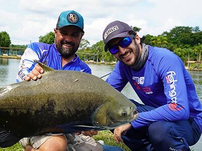 Pesqueiros já estão recebendo turistas