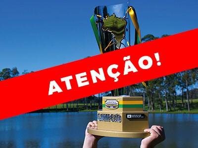Final do Campeonato Brasileiro em Pesqueiros é adiada