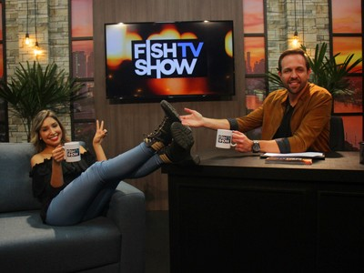 Laís Vanessa é a atração do quarto episódio do Fish TV Show
