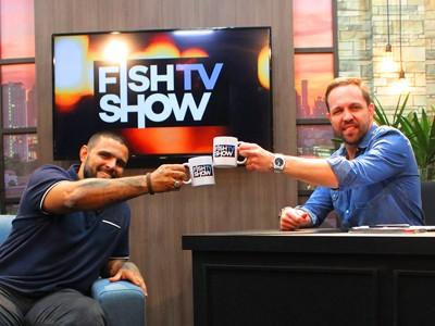 Eduardo Monteiro fala sobre suas pescarias no próximo episódio do Fish TV Show