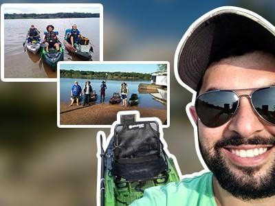 Pescador cria um desafio inspirado no programa A Meta