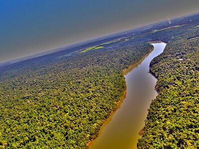Rio Paraná tem seca histórica