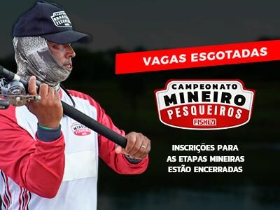 Vagas para o Campeonato Mineiro em Pesqueiros estão esgotadas