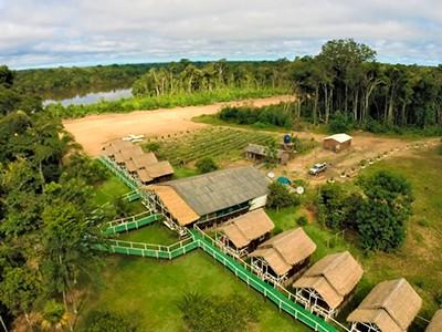 Pescando os gigantes de couro amazônicos