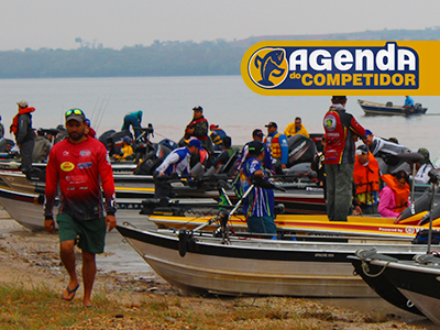 Confira a os torneios de pesca que vão acontecer no final de semana