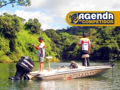 Planeje sua pescaria do fim de semana com a Agenda do Competidor