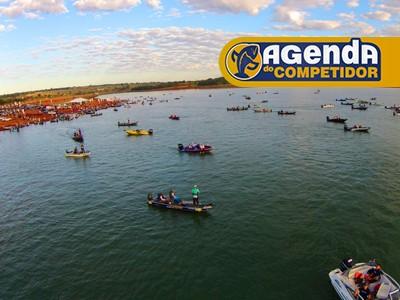 Organize sua pescaria do fim de semana com a Agenda do Competidor