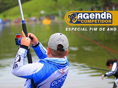 Organize sua pescaria de fim de ano com a Agenda do Competidor
