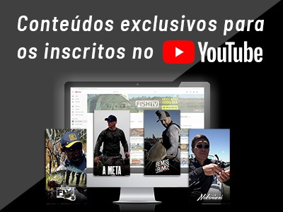 Vídeos novos chegam essa semana no canal do YouTube da Fish TV