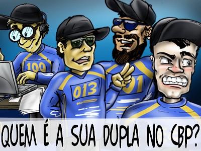 Quem é sua dupla no Campeonato Brasileiro em Pesqueiros?