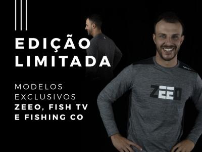 ZEEO e Fishing Co comemoram o dia do pescador com edição limitada
