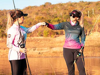 Mulher pescadora: Elas na Pesca está de cara nova, com amor em dobro pela pesca esportiva