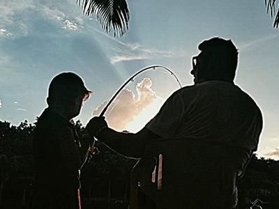 A pesca esportiva já está há 5 gerações nessa família