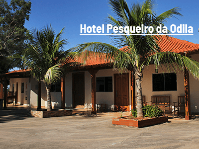 Hotel Pesqueiro da Odila renova com a Fish TV
