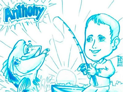 Fish TV vira tema de festa de aniversário