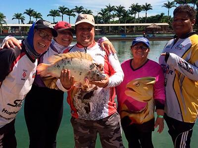 Pesca esportiva: uma paixão que passa de pai para filho