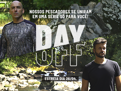 Day Off: A Pescaria do dia a dia dos pescadores Fish TV