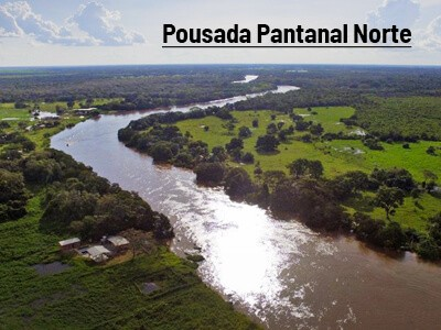Pousada Pantanal Norte começa parceria com a Fish TV