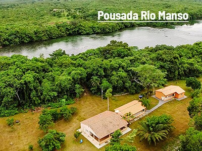 Pousada Rio Manso continua com a Fish TV
