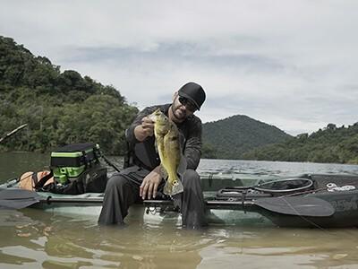 Modalidades de pesca que podem ser praticadas com o caiaque