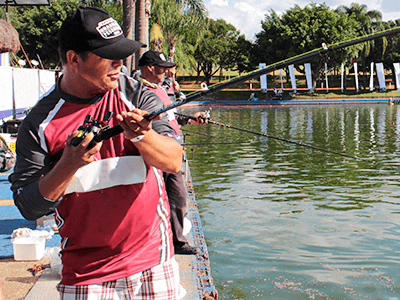 Mandirituba sedia maior campeonato de pesca esportiva do Paraná