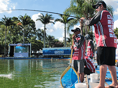 Itu sedia maior campeonato de pesca em pesqueiro do estado