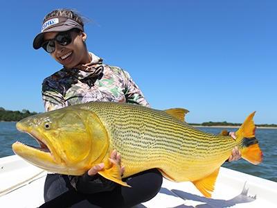 Dourados gigantes: pesca esportiva na Argentina