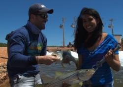 Foto de Estreantes na pesca