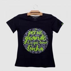 camiseta peixe grande fish tv for fisher