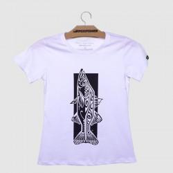 camiseta branca robalo maori