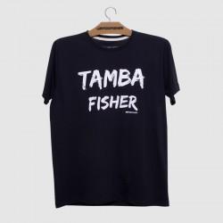 Camiseta preta escrota ta,na fisher