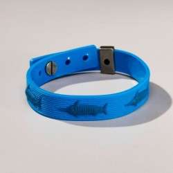 pulseira azul marilin for fisher