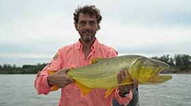 dourado, argentina, mapa da pesca