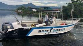 barco, mar, pescaria, lago